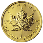 2015 1/4 oz Canadian Gold Maple Leaf