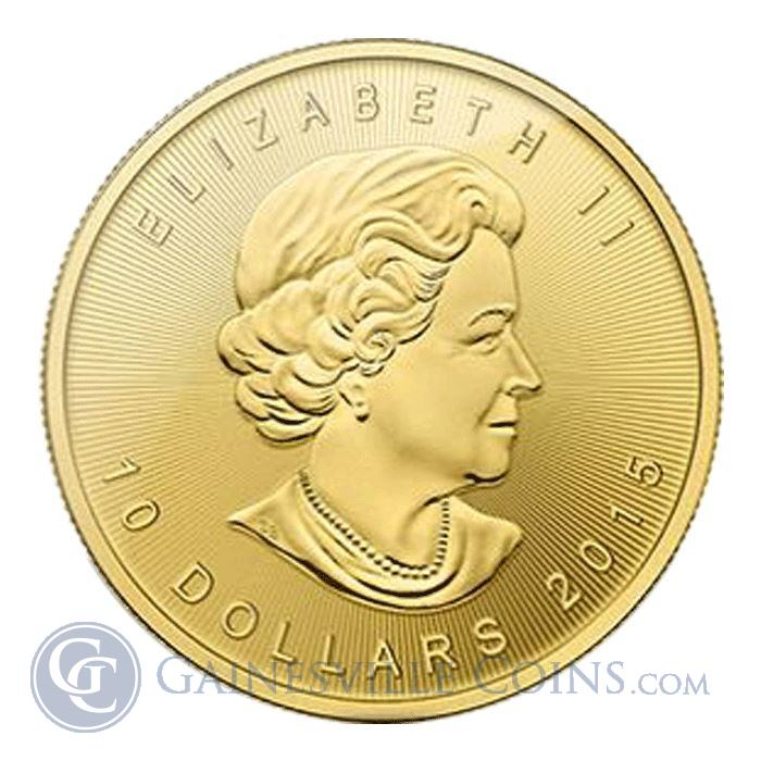 Image Showcase for 2015 1/4 oz Canadian Gold Maple Leaf