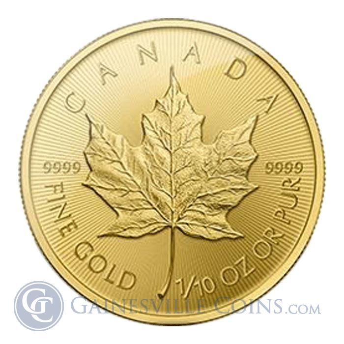 Image Showcase for 2015 1/10 oz Canadian Gold Maple Leaf Bullion Coin