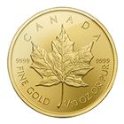 2015 1/10 oz Canadian Gold Maple Leaf Bullion Coin