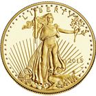 2015 1/2 oz Gold American Eagle - Brilliant Uncirculated