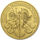 2015 1/10 oz Austrian Gold Philharmonic Coin - BU