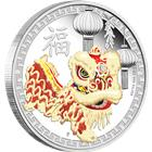 2015 Lion Dance Chinese New Year 1 oz Proof Silver Coin - Australia