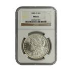 1885-O Morgan Silver Dollar NGC MS65 (Serial # 7091)