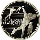 1990 France Albertville Olympics 100 Franc Proof Silver Coin (.64 oz ASW)