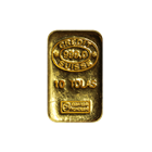 10 Tola Credit Suisse Gold Bar - (3.75 oz AGW)