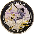 2015 Guy Harvey© Colorized 1 oz Proof Silver Round - Blue Marlin (Mintage of Only 1500!) .999 Pure