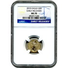 2015 $5 American Gold Eagle NGC MS70 - Early Release