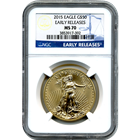 2015 $50 American Gold Eagle 1 oz NGC MS70 - Early Release