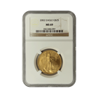 2002 $25 American Gold Eagle NGC MS69
