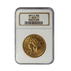 1879-S $20 Gold Liberty Double Eagle NGC MS61