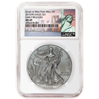 2015 American Silver Eagle NGC MS69 Early Release