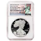 2015-W American Proof Silver Eagle NGC PF70 Ultra Cameo Early Release