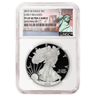 2015-W American Proof Silver Eagle NGC PF69 Early Release