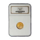 1914 $2.5 Indian Gold Coin NGC MS64