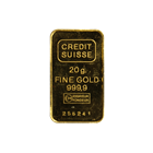 20 Gram Credit Suisse Gold Bar