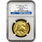 2015 American Gold Buffalo NGC MS70 Early Release