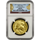 2015 American Gold Buffalo NGC MS69 Early Release