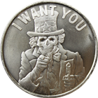 2014 I Want You 1 oz Silver Round - Silver Shield (.999 Pure)