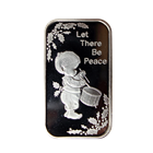 Let There Be Peace 1 oz Silver Bar (.999 Pure)