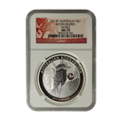 2014 Silver Kookaburra Dragon Privy NGC MS70 Early Release