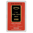 1 oz Comex Approved Gold Bar With Assay Certificate .9999 Fine - (Various Brand and Design)