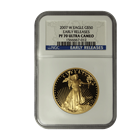 2007-W $50 American Gold Eagle NGC PF70 Early Release Ultra Cameo