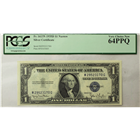 1935D $1 Silver Certificate Fr#1613N PCGS 64PPQ  (Stock photo)