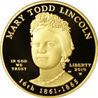 2010-W $10 Mary Todd Lincoln First Spouse Proof Gold