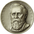 Rutherford B Hayes Presidential Silver Art Medal - Medallic Art (.82 oz of Silver)