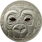 2013 Cross River Gorilla 1 oz Silver - Cameroon 1000 Francs