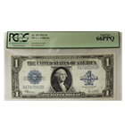 FR. 237 1923 $1 Silver Certificate PCGS 66PPQ