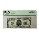 FR. 1950-K 1928 $5 Federal Reserve Note PCGS 64PPQ