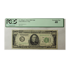 FR. 2202m-G 1934A $500 Mule Federal Reserve Note Chicago PCGS 40