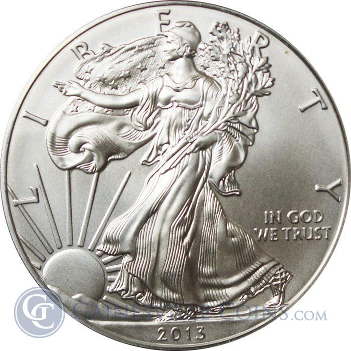 Image Showcase for 2013-W Burnished American Silver Eagle - With Box and COA