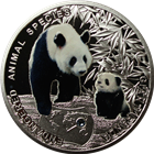 2014 Giant Panda Endangered Animal Species Proof Silver Coin - $1 Niue
