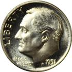 1951 10C Proof Silver Roosevelt Dime