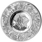 2015 Somalia Elephant Kilo Silver Puzzle Coin - 12th Anniversary (Mintage of ONLY 215!)