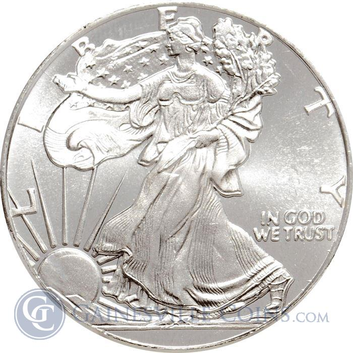 Image Showcase for 1/10 oz Walking Liberty Silver Round (.999 Fine)