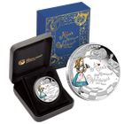 2015 Alice In Wonderland 1 oz silver proof coin 150th Anniversary - Perth Mint