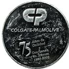 Colgate-Palmolive 2 oz Proof Silver Round - abrasions