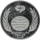 Colgate-Palmolive Multimillion Dollar Club Proof Silver Round (8.92 oz)