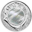 2015 Mother of Pearl 1 oz Silver Proof Coin - $1 Australia