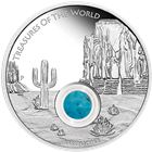 2015 Treasures of the World North America 1 oz Proof Silver Locket Coin