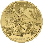 2016 1 oz Lunar Gold Monkey - Royal Australian Mint
