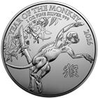 2016 1 oz Silver Lunar Monkey Coin - British Royal Mint