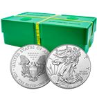 2016 Silver American Eagle Monster Box of 500 Coins - BU