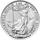 2016 1 oz Silver Britannia - British Royal Mint (Uncirculated)