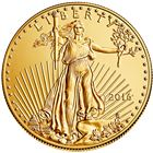 2016 1/2 oz Gold American Eagle - Brilliant Uncirculated