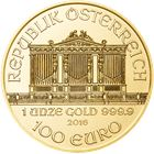 2016 1 oz Austrian Gold Philharmonic - Brilliant Uncirculated